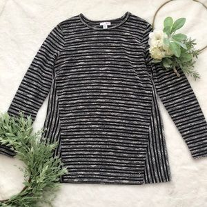 J. Jill Thinner Weight Crew Sweater EUC